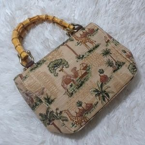 Relic Safari Animals Print Box Bag